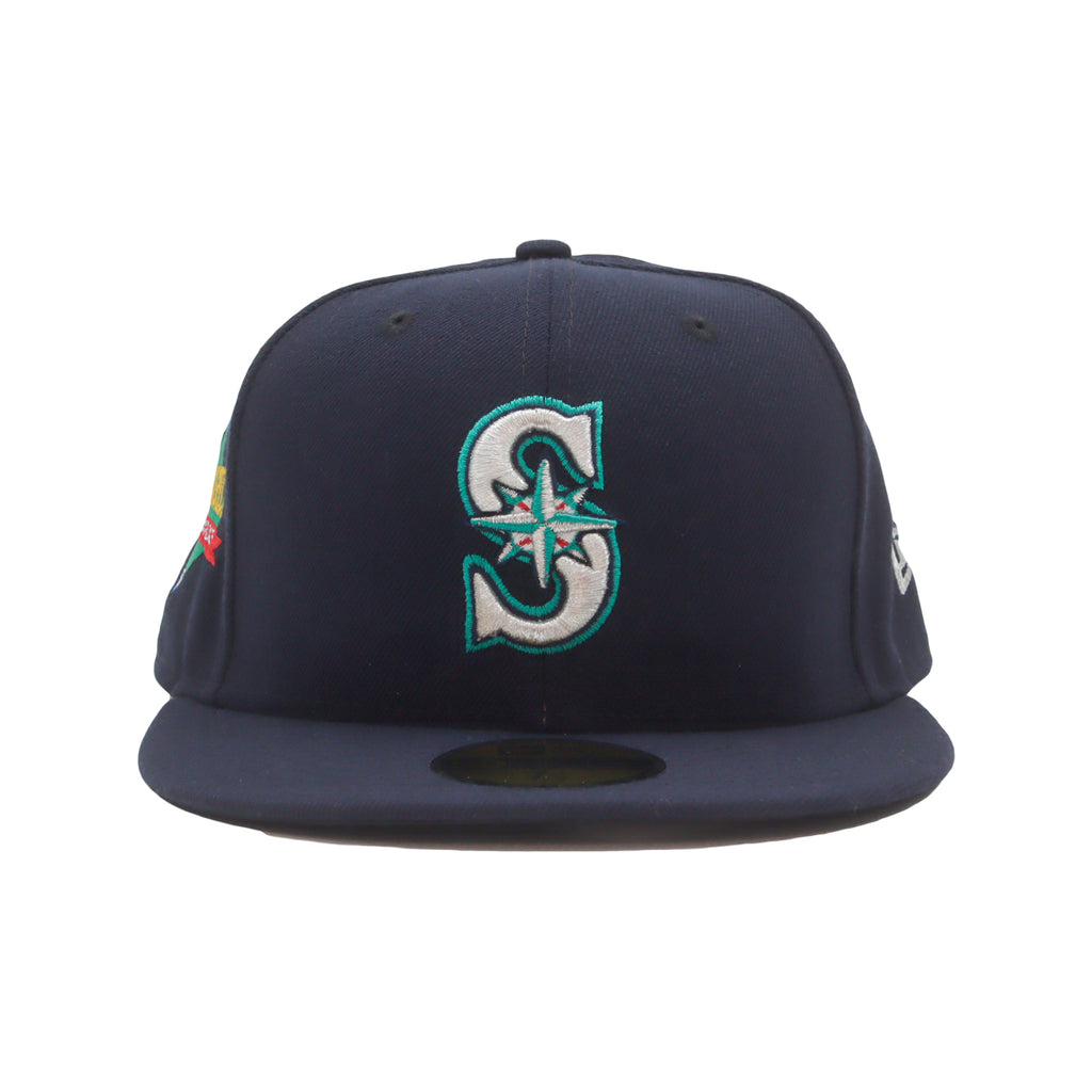 Mariners NEW ERA 59/50 Fitted Cap (Navy)