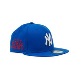 Mr October New Era 59/50 Fitted Hat (Jay Z Blue)