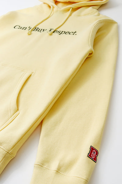 Can't Buy Respect Signature Hoodie (Yellow)