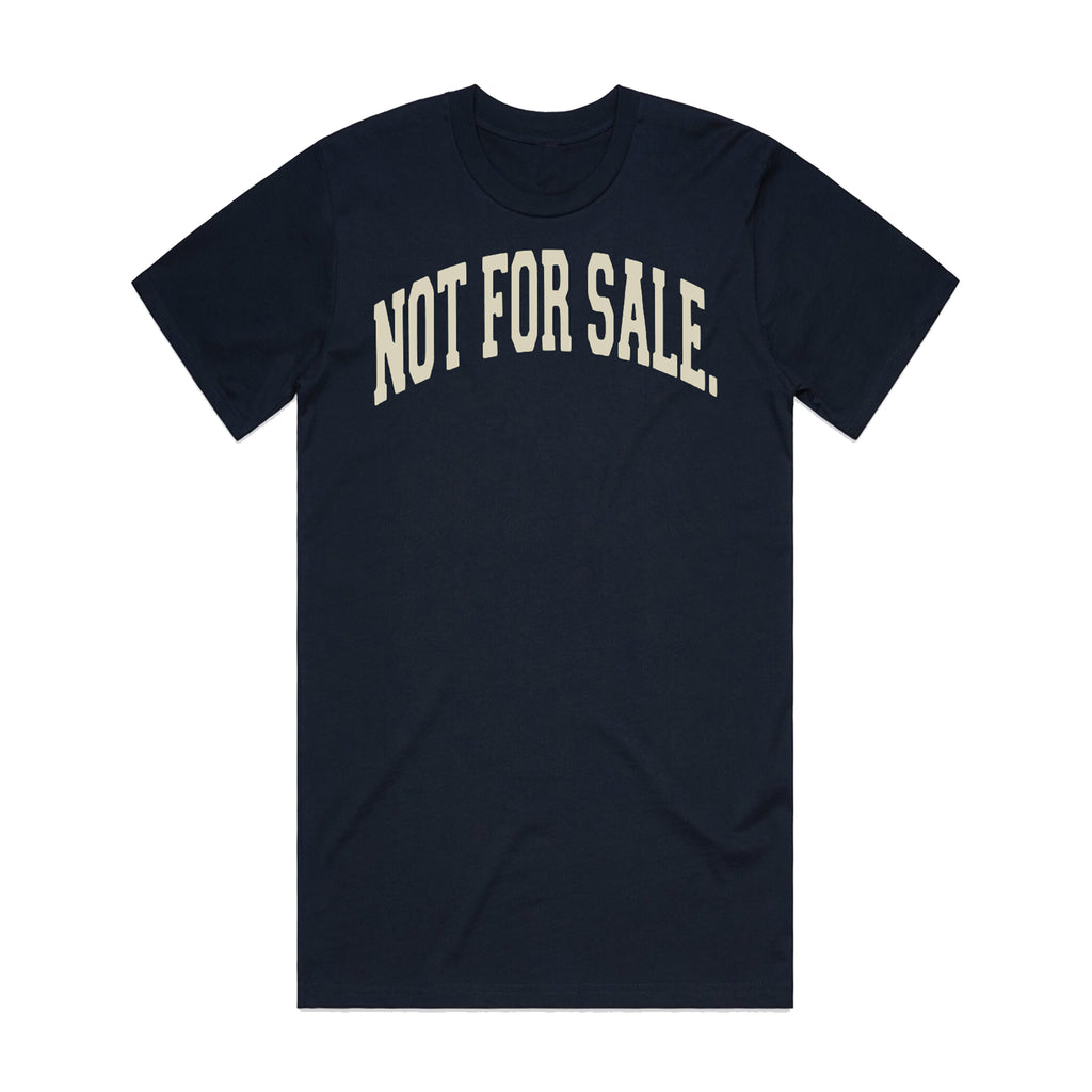 Not For Sale Premium Tee (Navy/Cream)