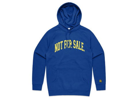 Not For Sale Premium Hoodie (Loyal Blue/Yellow)