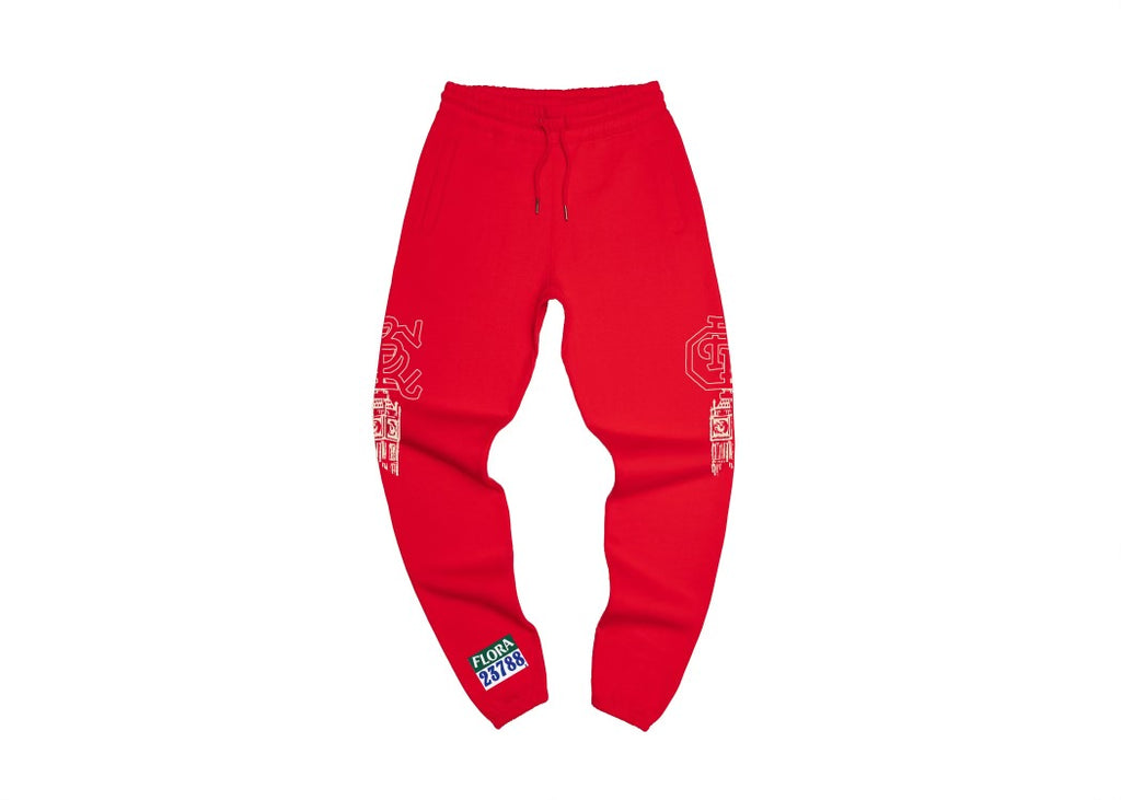 Run For Your Life Sweatpants (Red)