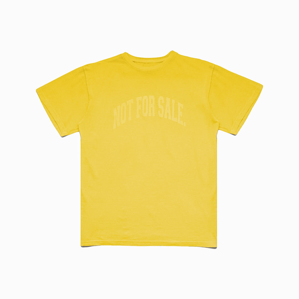 Not For Sale Tee (Banana Cream)