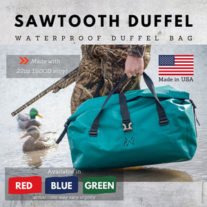 Sawtooth Duffel Bag