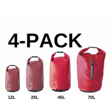 Load image into Gallery viewer, 4 Pack Dry Bag