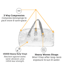 Load image into Gallery viewer, Sawtooth Duffel Bag