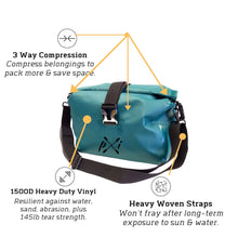 Load image into Gallery viewer, Sawtooth Mini Duffel Bag