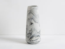 Load image into Gallery viewer, Marbled Pillar Vases