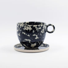 Load image into Gallery viewer, Black Splatter Mug