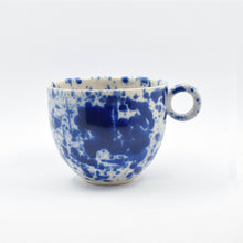 Load image into Gallery viewer, Blue Splatter Mug