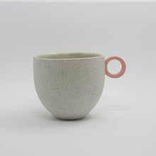 Load image into Gallery viewer, Matt Speckle White Mug