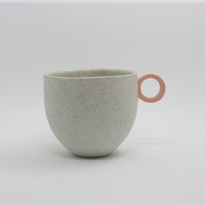 Matt Speckle White Mug