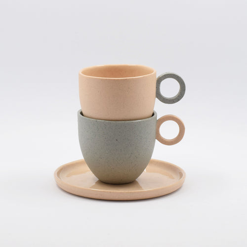 Limited Edition Speckle Espresso Cup Opposites