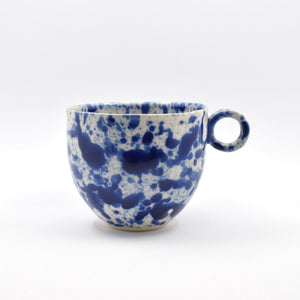 Blue Splatter Mug