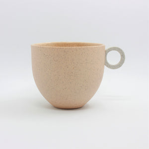Matt Speckle Peach Mug
