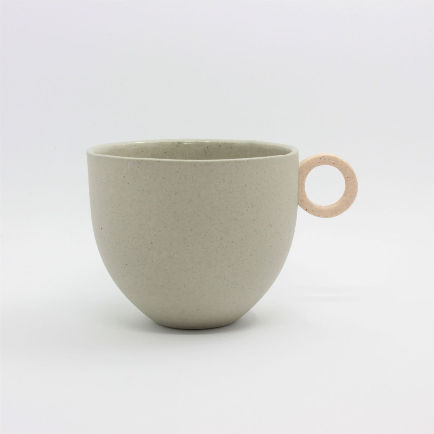 Matt Speckle Grey Mug