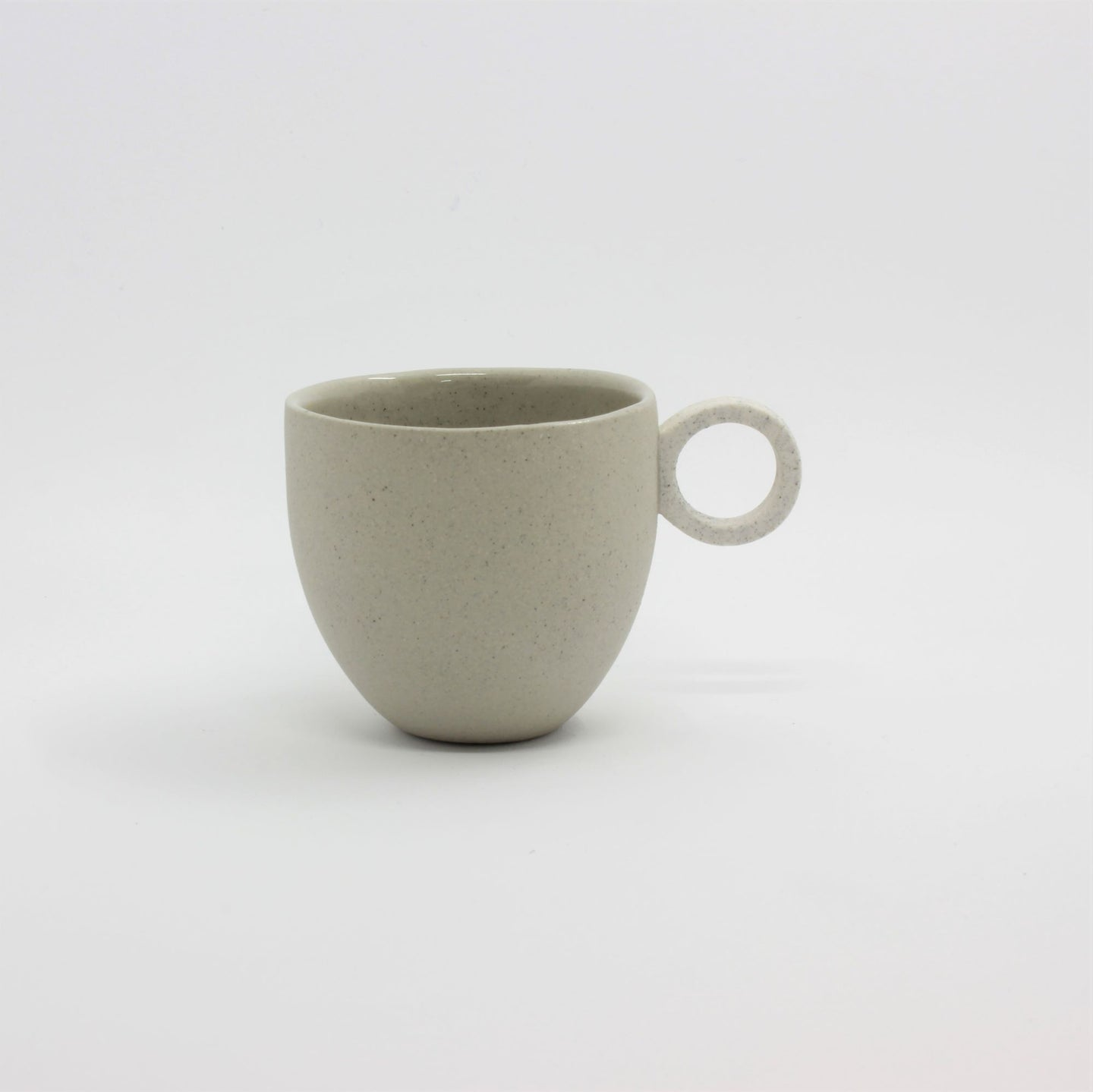 Matt Speckle Grey Espresso Cup