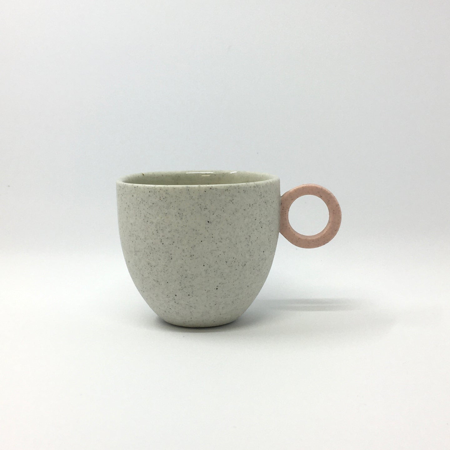 Matt Speckle White Espresso Cup