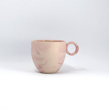 Load image into Gallery viewer, Pink Marbled Espresso Cup