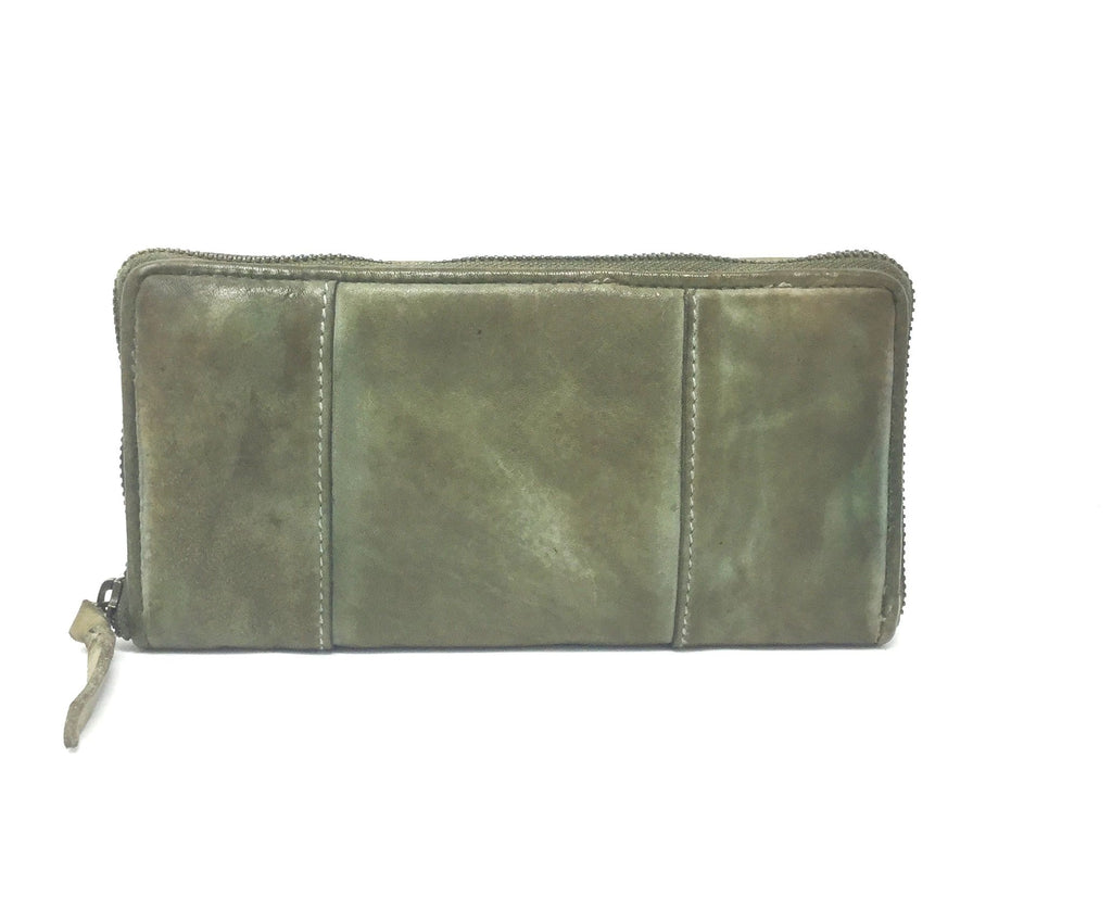 Bull&Hunt Zip Wallet Desert Green
