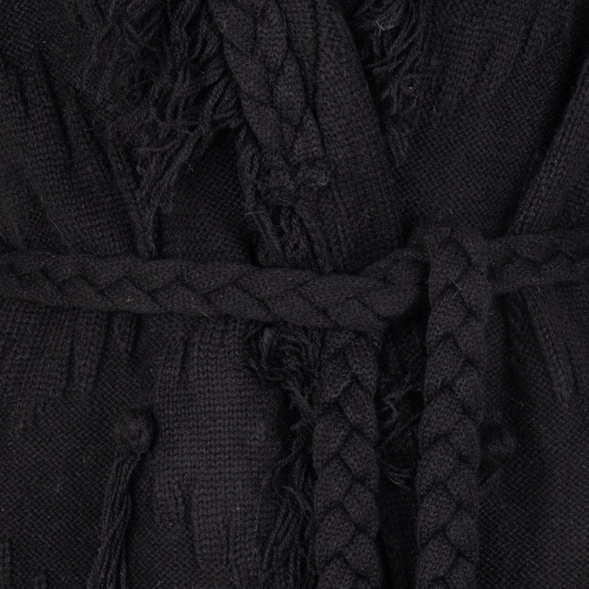 Esqualo Cardigan Fringes & Knots