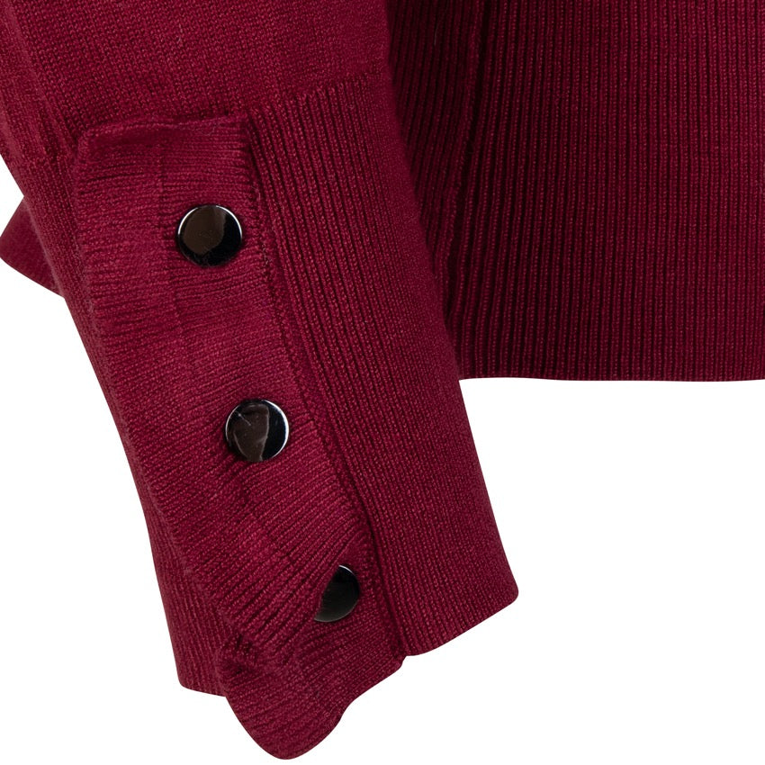 Esqualo Sweater Wide Cuff