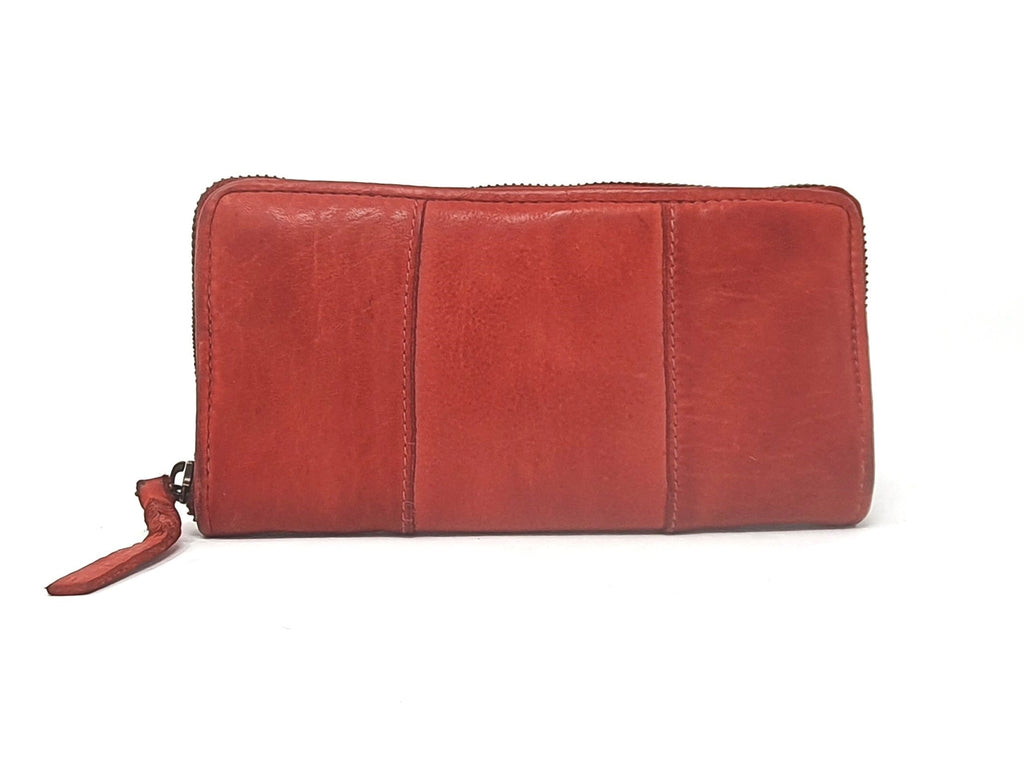 Bull&Hunt Zip Wallet Light Red
