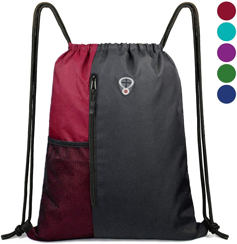 BeeGreen Drawstring sports backpack/red
