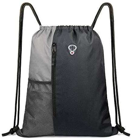 BeeGreen Drawstring sports backpack/gray