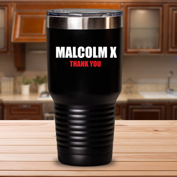 Homage to Malcolm X Travel Mug