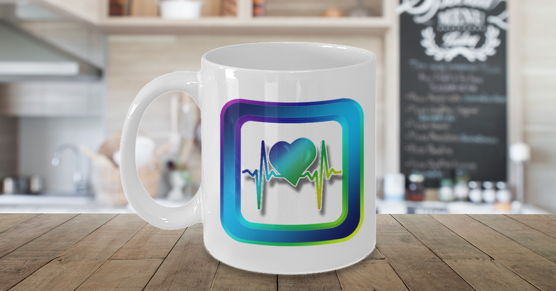 Health Heart Coffee Mug