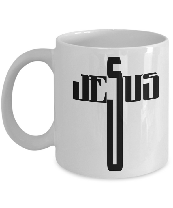 Jesus Coffee Mug - White