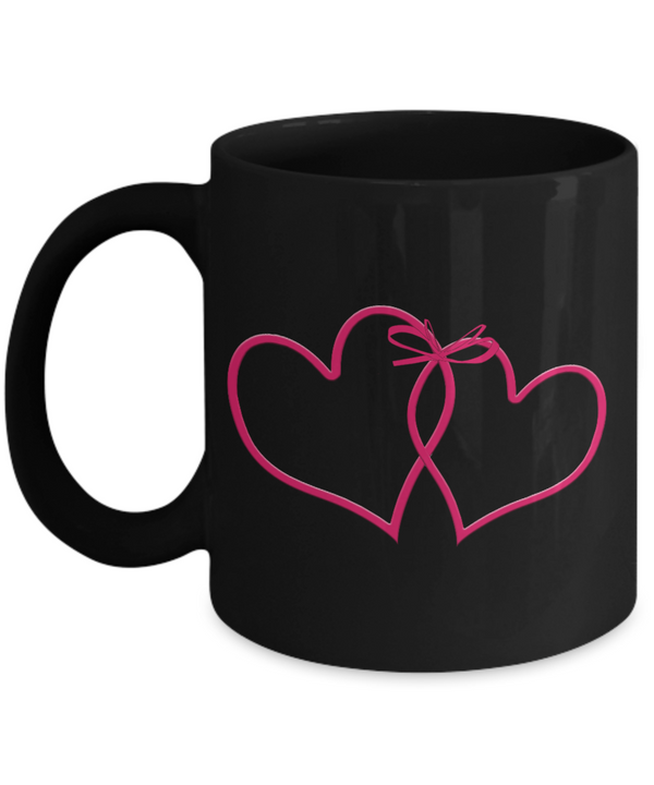 Love Coffee Mug - Black