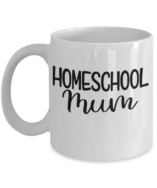 Homeschool Mum Coffee Mug, Quarantined Mom Mug