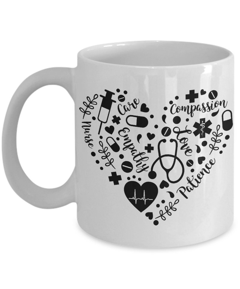 Nurse Love Coffee Mug