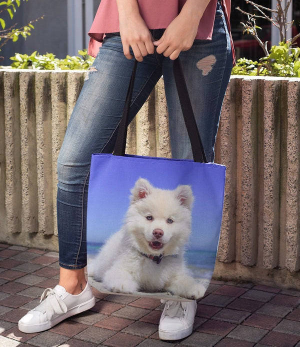 Dog Tote bag, Dog Totes, Dog Themed Tote bags,Charles Tote Bag, Beach Bag, Charles Lovers,Dog Gear Bag, Dog Stuff Carryall, Pet bag