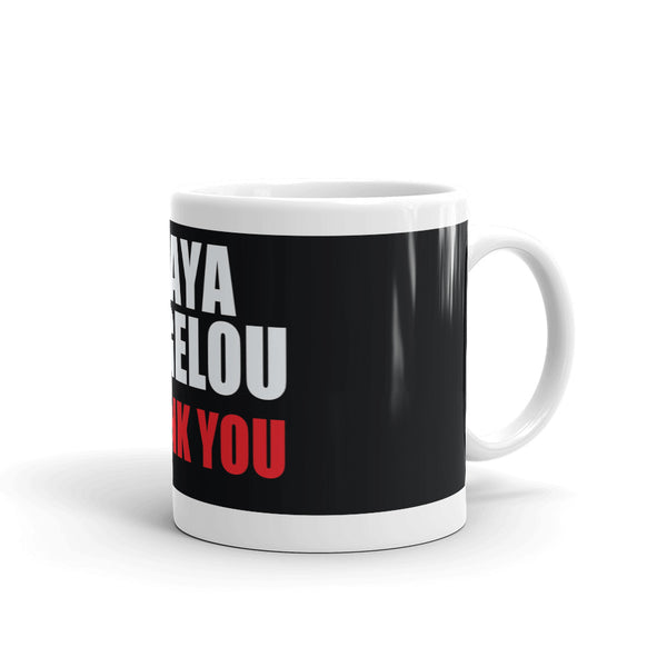 Homage to Maya Angelou Coffee Mug