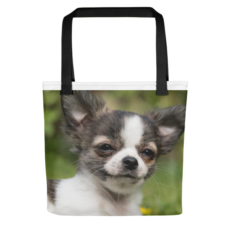 Pet tote, Dog bag, Puppy bag, Chihuahua. Great for dog stuff, shopping, books, laptop. Cute dog lover gift