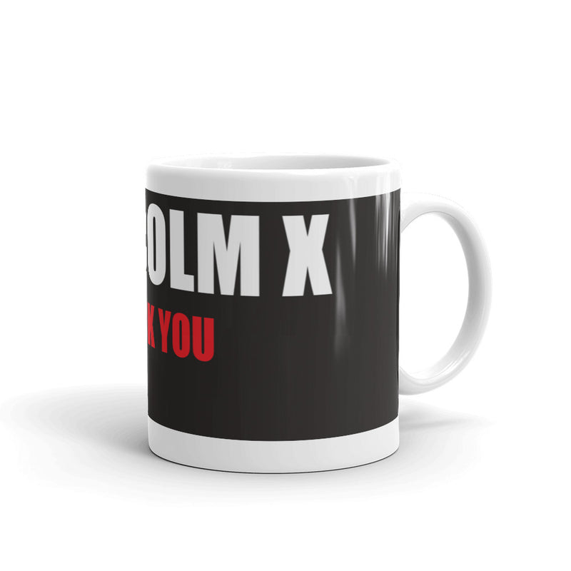 Homage to Malcolm X Coffee Mug