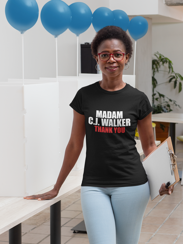 Homage to MADAM C J WALKER - T-SHIRT