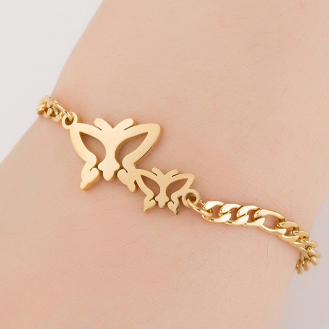 Stainless Steel Animal Bracelets for Women's