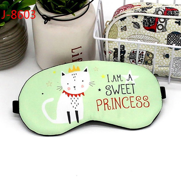 Eye Cover Cotton Creative Lovely Cartoon Eye Mask