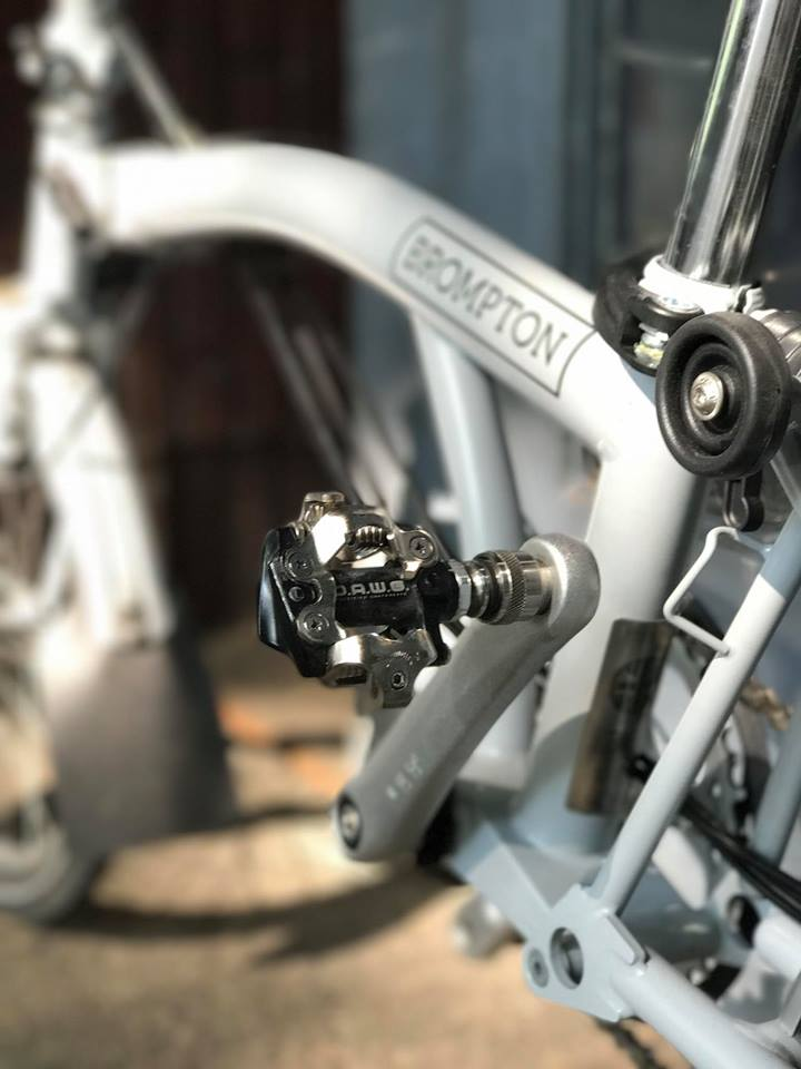 DAWG Cleats Titanium Axle Quick-Release Pedals