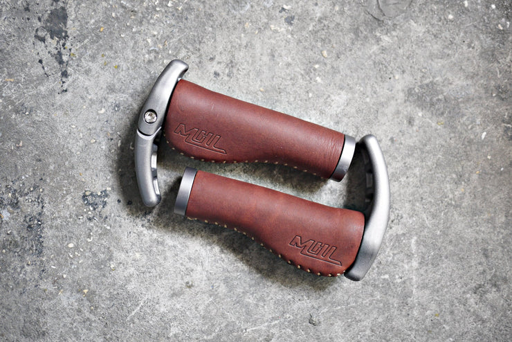 Sapience Leather Handlebar Grips - CoolStuff168PH
