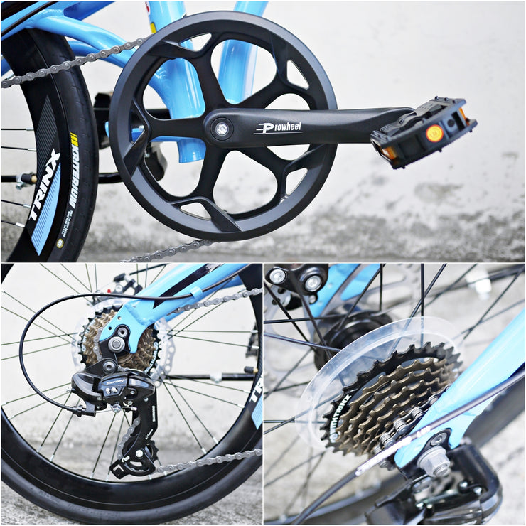 "Trinx Dolphin 2.0 20"" (451) Disc Brake Folding Bike 2018"