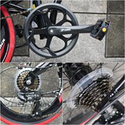 "Trinx Dolphin 2.0 20"" (406) Disc Brake Folding Bike"