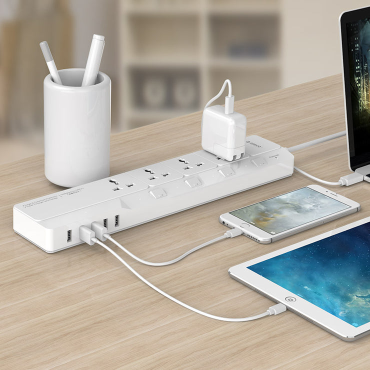 ORICO Surge Protector with USB Charger - CoolStuff168PH