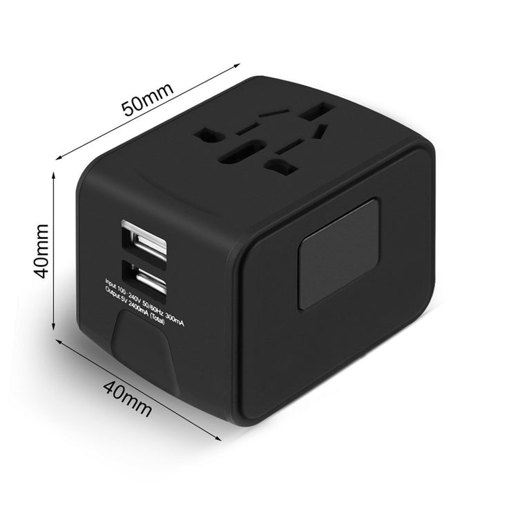 Universal Travel Adapter with USB Port - CoolStuff168PH