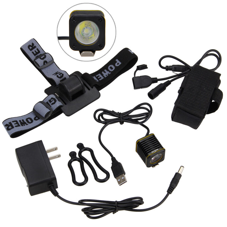 Mini USB Bike Light (With Battery)
