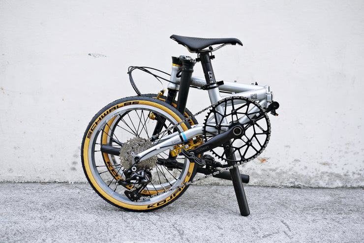 "Upgraded FNHON Gust 16"" Folding Bike"